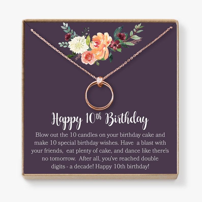 10th Birthday Gift For Girls Present Ten Year
