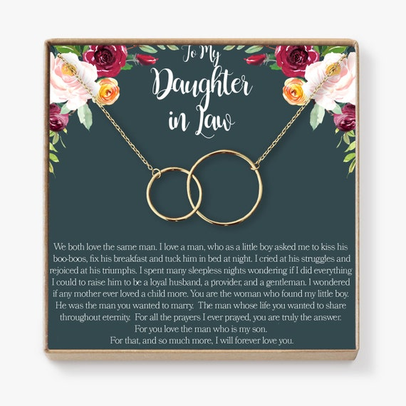 Christmas Gift for Daughter-In-Law Necklace: From Mother ...