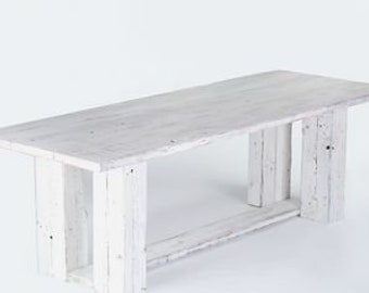 French Country Table, Farmhouse Dining Table, Reclaimed Pine