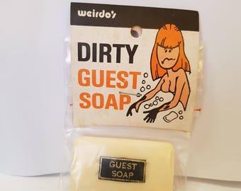 Vintage Joke Prank Dirty Guest Soap Gag
