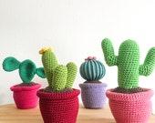 Cactus Quartet crochet pattern