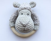 Sheep Rattle Beige - Finished items - Crochet
