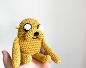 Jake the Dog crochet pattern