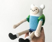 Finn the Human crochet pattern