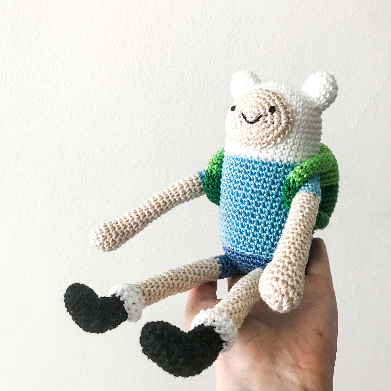 Finn the Human crochet pattern Sewing & Fiber Craft Supplies ...