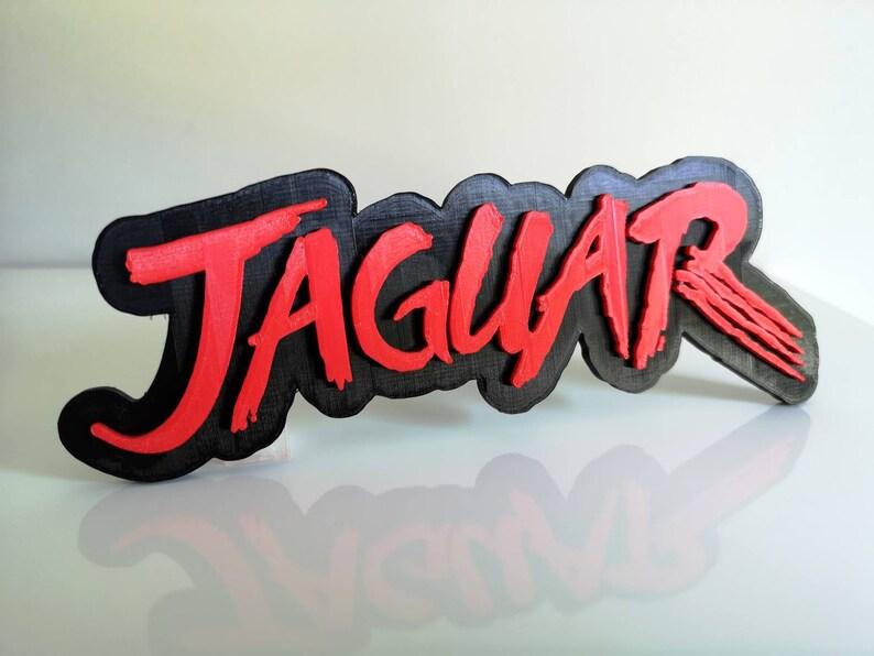 Atari Jaguar shelf displayfridge magnet Retro 90s Video Games Logo FridgeCar Magnet
