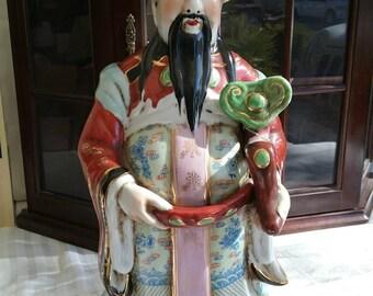 Oriental emperor or sage