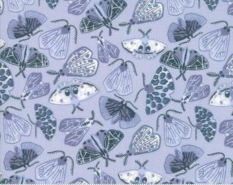 PRE-ORDER!!! Moda Fabric - Twilight - Cotton Fabric - Fabric - Fabric By The Yard - Quilt Fabric - Fat Quarter - Watercolor - Moth - Nature