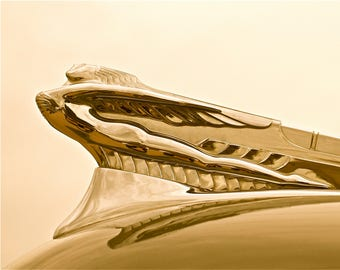 Art Deco hood ornament Vintage hood ornament retro automobile wall art classic car wall art vintage car  Flying Ladies hood ornament