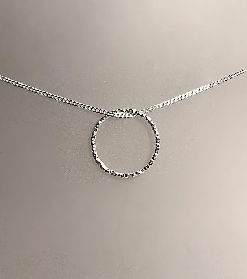 Silver Halo pendant/necklace image 0