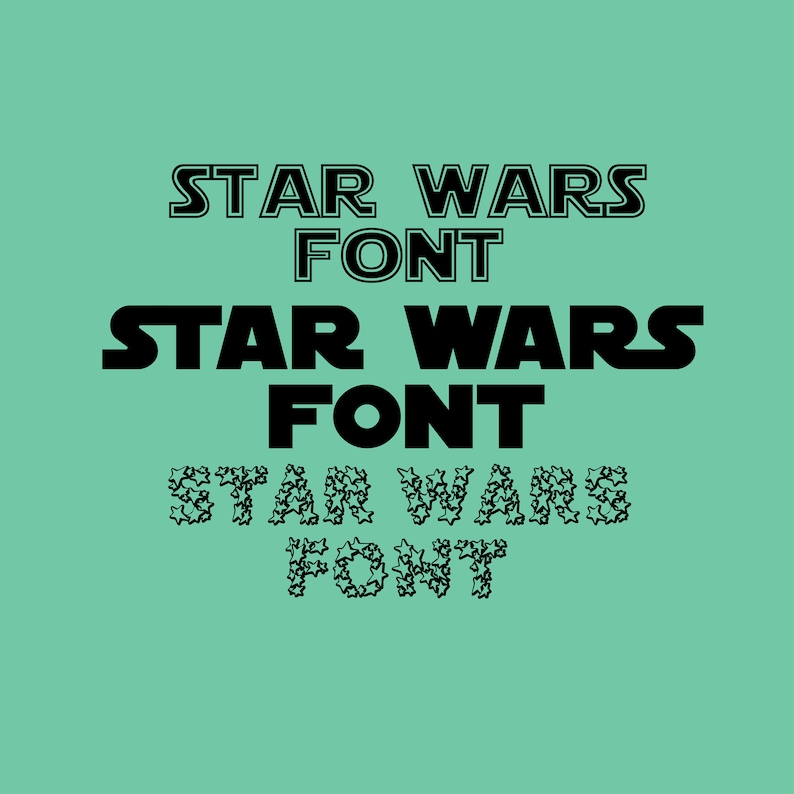 ttf font  STAR WARS FONT, star wars svg, star wars font svg, star wars  files, death star svg, jedi svg, for cameo sillhouette and Cricut