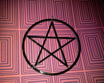 3 inch pentagram necklace