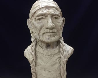 Willy Nelson Sculpture