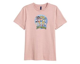 Retro Sailor Moon T shirt Manga Japan Pink 80s TV show