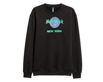 Hard Rock Cafe sweatshirt sweater New York RETRO 90s