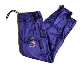 Miami Vice windbreaker Pants Vintage 1990 - Sz L