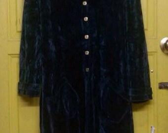 Vintage sonia rykiel suede coat