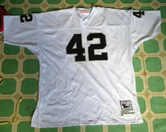 Collectible raiders jersey throwback edition