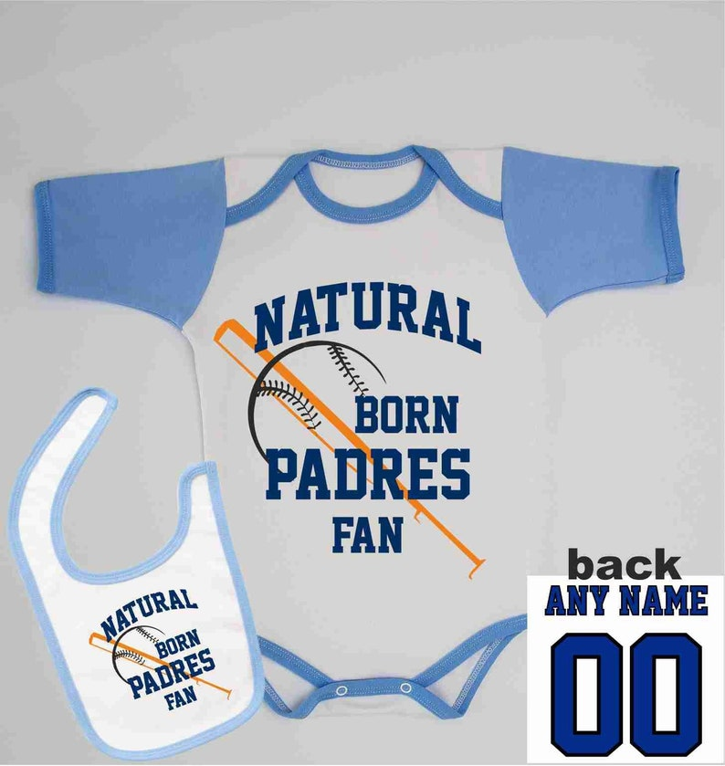 huge discount 6671a 4f66e Game Day Shirt, Personalized Newborn Padres Outfit, Custom Name and Number  Infant One Piece, San Diego Baseball Jersey, Fathers Day Gift
