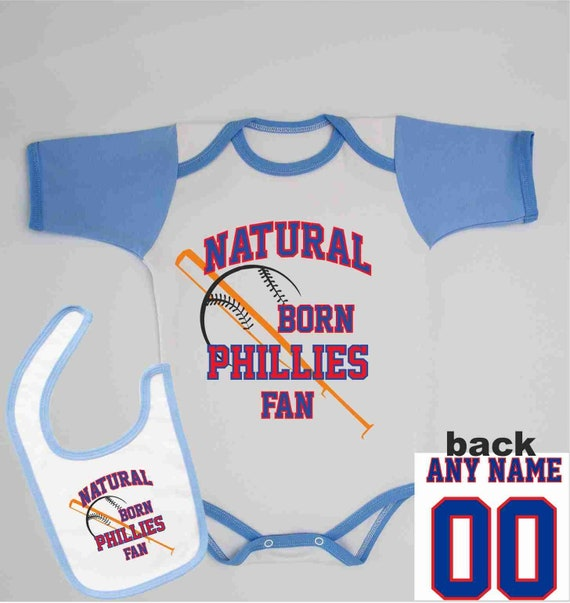 24e8b4517 Personalized Phillies Infant Outfit Name and Number On The