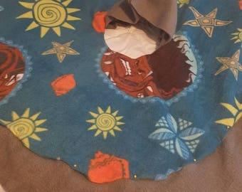 Children Ponchos> Car Seat Ponchos > Toddlers> Moana print> Maui