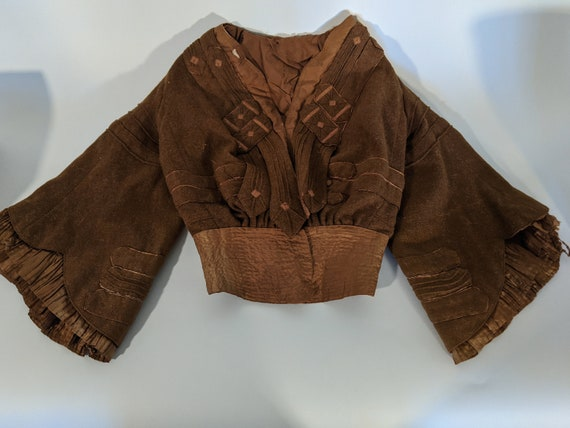 Early Victorian Coat or Bodice