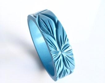 Bakelite bracelet reproduction / Sky Blue