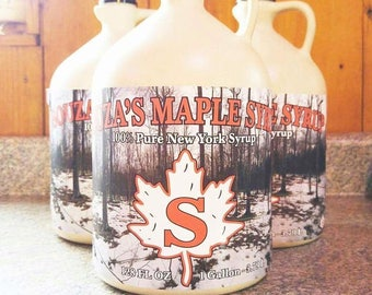 Souza's Maple House - 40oz - 1 Gallon - Maple Syrup - Pure NY Maple Syrup