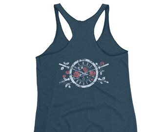 Bars N' Roses Exclusive Limited Edition - Women's Racerback Tank