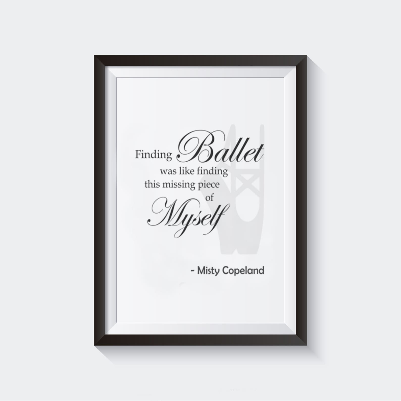 ballet quotes, misty copeland quotes, ballet svg, ballerina quotes, ballerina, ballet lover, ballet photo, ballet print, ballet