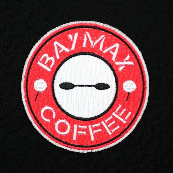 Disney TNBC Sally Deadly Coffee Mock Starbucks Logo Embroidered Iron-On Patch