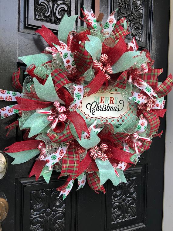 image 0 - Christmas Front Door Decorations Diy