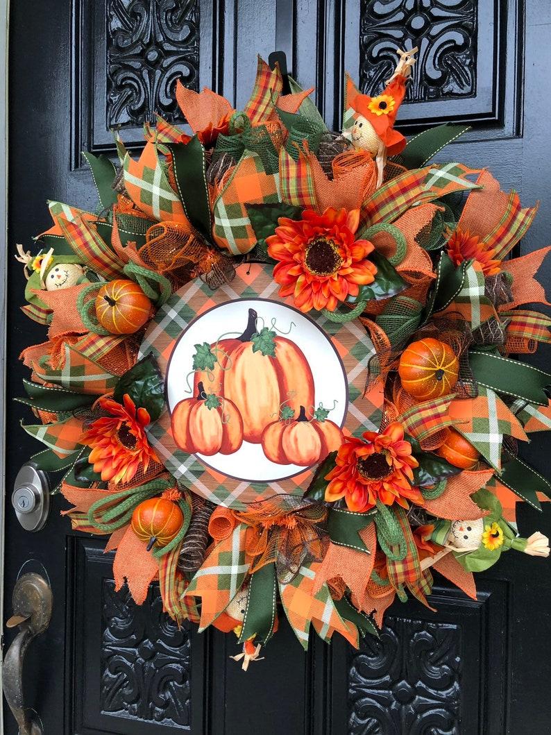 Autumn Wreath Fall Wreath