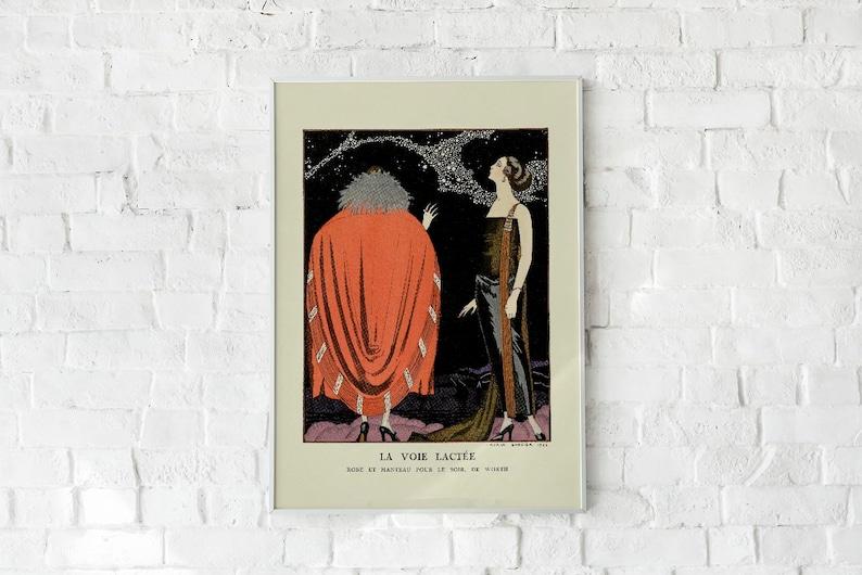 La Voie Lact\u00e9e Vintage Poster
