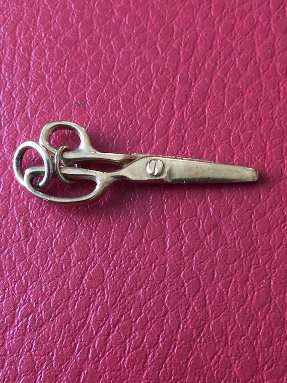Gold Scissors Charm/Pendant
