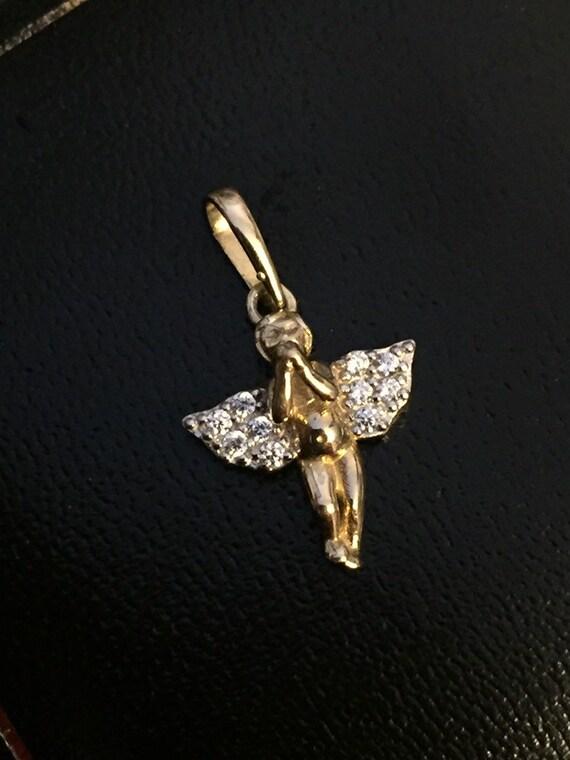 Gold Angel Charm