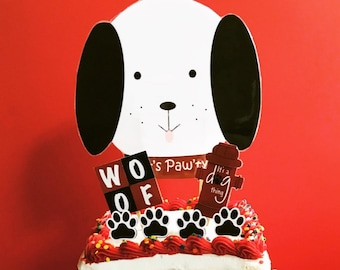 Lets Pawt Ty Cake Decorations Doggy Decorating Kit Party