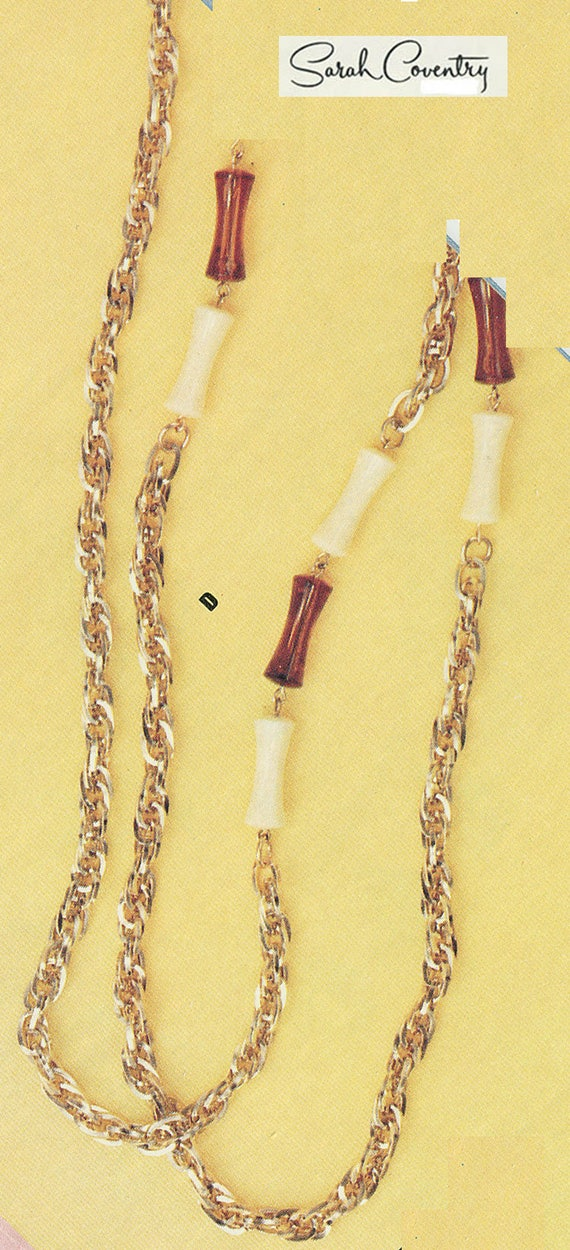ANTIQUE Sarah Coventry Jewelry -Applause Necklace