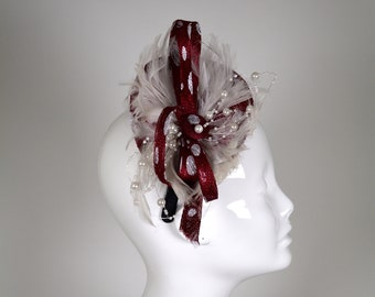 0b19cda15285c Exclusive Handmade 100% Sinamay Fascinator for many occasions  Gala