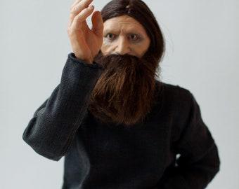 Grigory Raspoutine moschnoruky(power-armed:) -Doll OOAK -