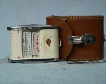 Gossen Luna Pro Vintage Belichtungsmesser Leder Schutzhülle Fotostudio-zubehör