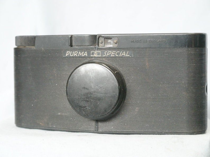 Nice Purma Special Bakelite Vintage English Camera Gravity Shutter