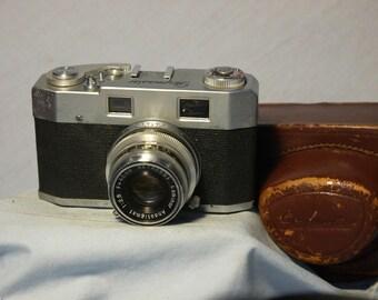 Skymaster Cased Vintage Rangefinder Camera -Pax M4 Rebadge- Nice Rare