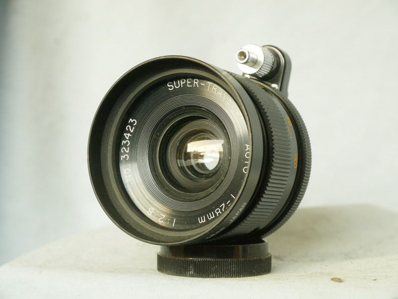 28MM F2.8 Exakta Mount Prime Wide Angle  Lens Ideal Conversion Lens Nice Bokeh-
