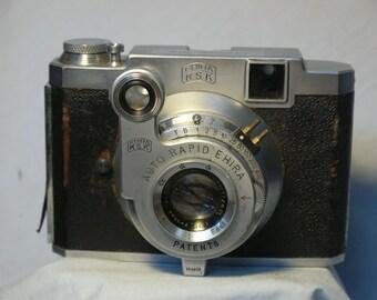Ehira KSK Chrome Six -Super Rare- Vintage Rangefinder Camera  -Auto Rapid Ehira-