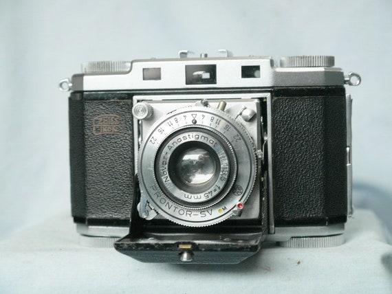 Zeiss Ikon Contina II 524/24 Vintage Classic Folding Camera c/w Novar  Anastigmat 3 5 f=45mm + Prontor-SV Shutter - Nice Set
