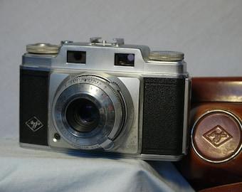 Agfa Super Silette Vintage Rangefinder Camera Cased -Nice-