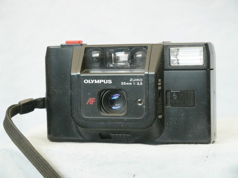 Olympus Trip AF Quality Compact 35mm Camera c/w Zuiko 35mm Lens - Nice -