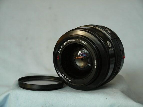 dacd9283fa60 Minolta AF 35-70MM F4 Zoom Macro Lens -Nice-