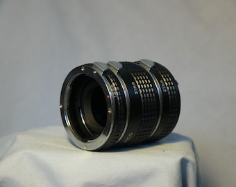 Pentax PK Fit Macro Extension Tubes